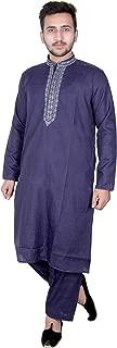 Mens soft Cotton Indian kurta Salwar kameez Pajama sherwani semi formal wear 817