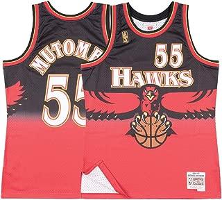 Mitchell & Ness Atlanta Hawks Dikembe Mutombo Swingman Jersey NBA Throwback Red