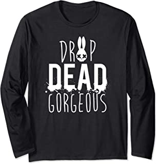 Drop Dead Gorgeous Shirt, Pastel Goth Designs Long Sleeve T-Shirt