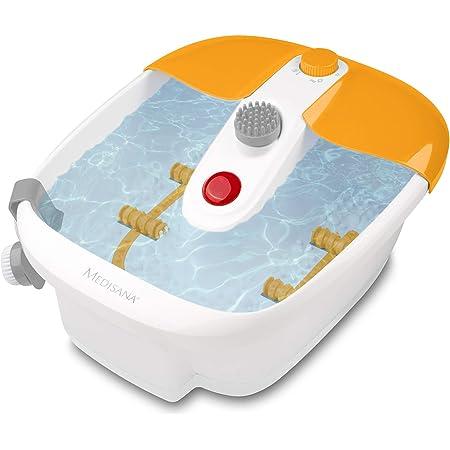 medisana FS 883 Bain Moussant pour les Pieds avec Massage de la Zone Réflexe des Pieds, Bain de Pieds électrique, Fonction de Réchauffement de l'eau, Massage par Vibration