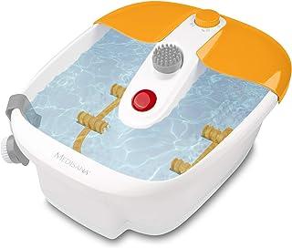 Medisana FS 883 Voetbubbelbad Met Voetreflexologie, Elektrisch Voetbad, Opwarmfunctie, Vibratiemassage, Pedicurebevestigin...