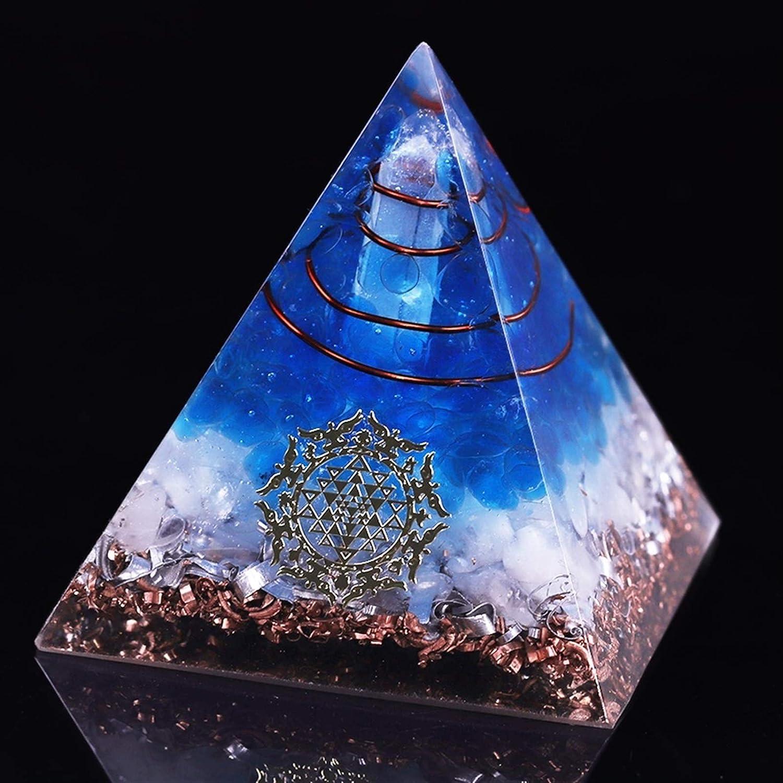 NBKLS Pyramid Blue Quartz Industry No. 1 for Cheap sale Decoration Home Collectible Yoga