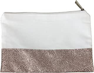 Glitter Cosmetic Bag Cotton Makeup Bag Christmas Part Gifts And Travel Makeup Pouch With Glitter Bottom