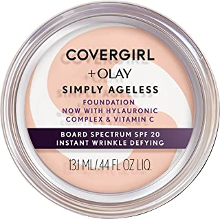 COVERGIRL+OLAY Simply Ageless Instant Wrinkle-Defying Foundation, 205 Ivory