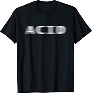ACID Techno Acid House EDM Rave DJ Party Fesival T-Shirt