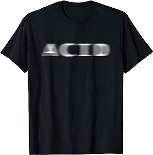 ACID T-Shirt EDM Acid House Techno Raver DJ Party Tee