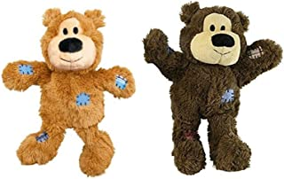 Wild Knots Bears Durable Dog Toys Size:Med/Large Pack of 2