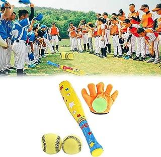 Ktimor Palla da Baseball per Bambini in Gomma Morbida per interazione Genitori e Studenti
