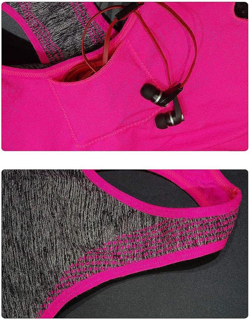 aihihe Sports Bras for Women Racerback Sports Bras High Impact Workout Yoga Gym Activewear Fitness Bra