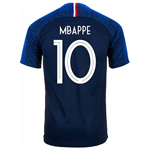 ae2d5735203 Nike MBAPPE #10 France Home Men's Soccer Jersey World Cup Russia 2018