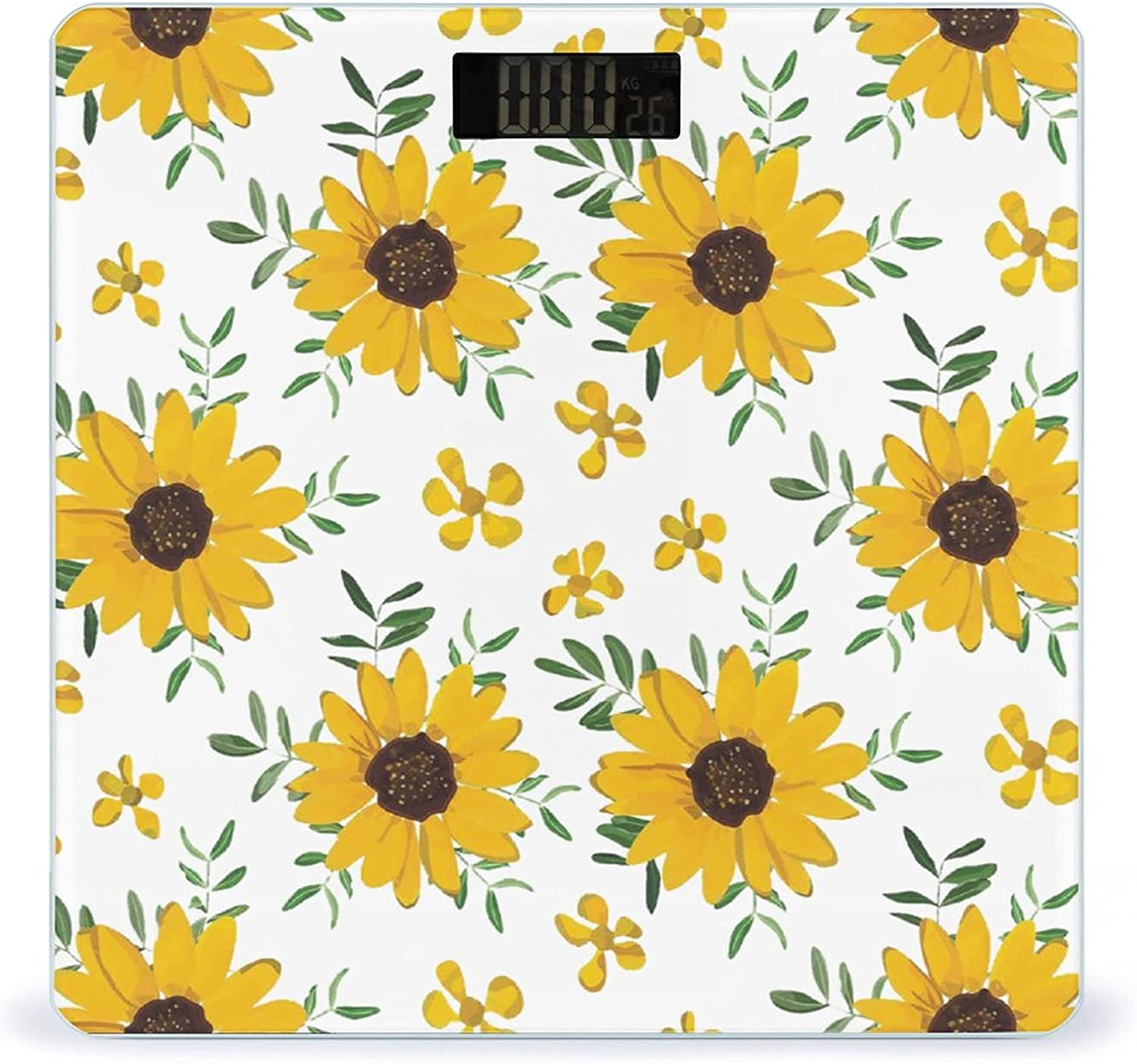 Super sale period limited Japan Maker New Vintage Yellow Sunflower Highly Accurate Smart Fitness Scale Wei