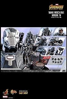 Hot Toys War Machine Mark IV Avengers Infinity War Movie Masterpiece Series Diecast 1/6 Sixth Scale Special Exclusive Edition Iron Man WarMachine Mark 4 Figure [w/ Bonus Part] : Outrider Diorama