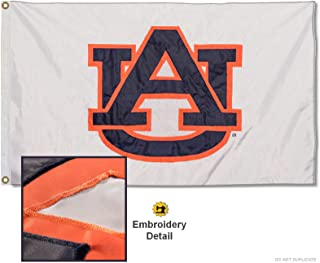 College Flags & Banners Co. Auburn University Embroidered and Stitched Nylon Flag