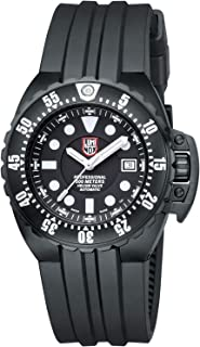 Deep Dive Black Dial Stainless Steel Silicone Auto Men's Watch S1511