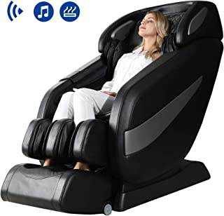 Massage Chair, Zero Gravity Massage Chair, Full Body Shiatsu Massage Chair Recliner with Space Saving, Yoga Stretching, SL Track, Bluetooth Speaker, Heat,Foot Roller&Vibrator Ugears B-L1