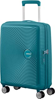 American Tourister Soundbox - Spinner Small Expandable Bagage Cabine, 55 cm, 41 liters, Vert (Jade Green)