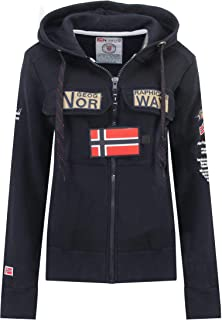 Geographical Norway Sudadera de niña GYMCLASS Full Zip