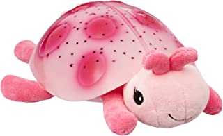 Cloud b Twilight Ladybug Pink Night Light Soother