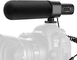 Neewer CM15 Camera Microphone Interview Microphone Compatible with Nikon/Canon/Sony/Panasonic Camera/DV Camcorder with 3.5...