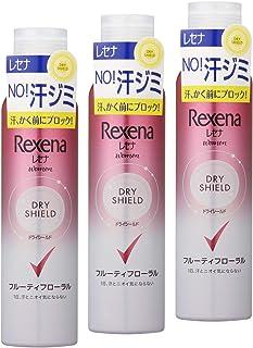Rexena(レセナ) ドライシールド パウダースプレー フルーティフローラル 135g×3個 おまけ付き 制汗剤