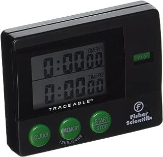Water-//Shock-Resistant Fisher Scientific Traceable Waterproof//Shockproof Stopwatches