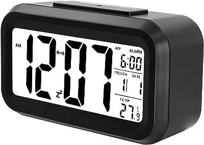 Soyion Despertador Digital con Alarma,Reloj Despertador de 5,3 Pulgadas
