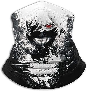 Balaclava Headband Ken Kaneki in White Paint - Tokyo Ghoul Scarf Bandana,Muffler,Neck Gaiter,Magic,Hatliner Sweatband