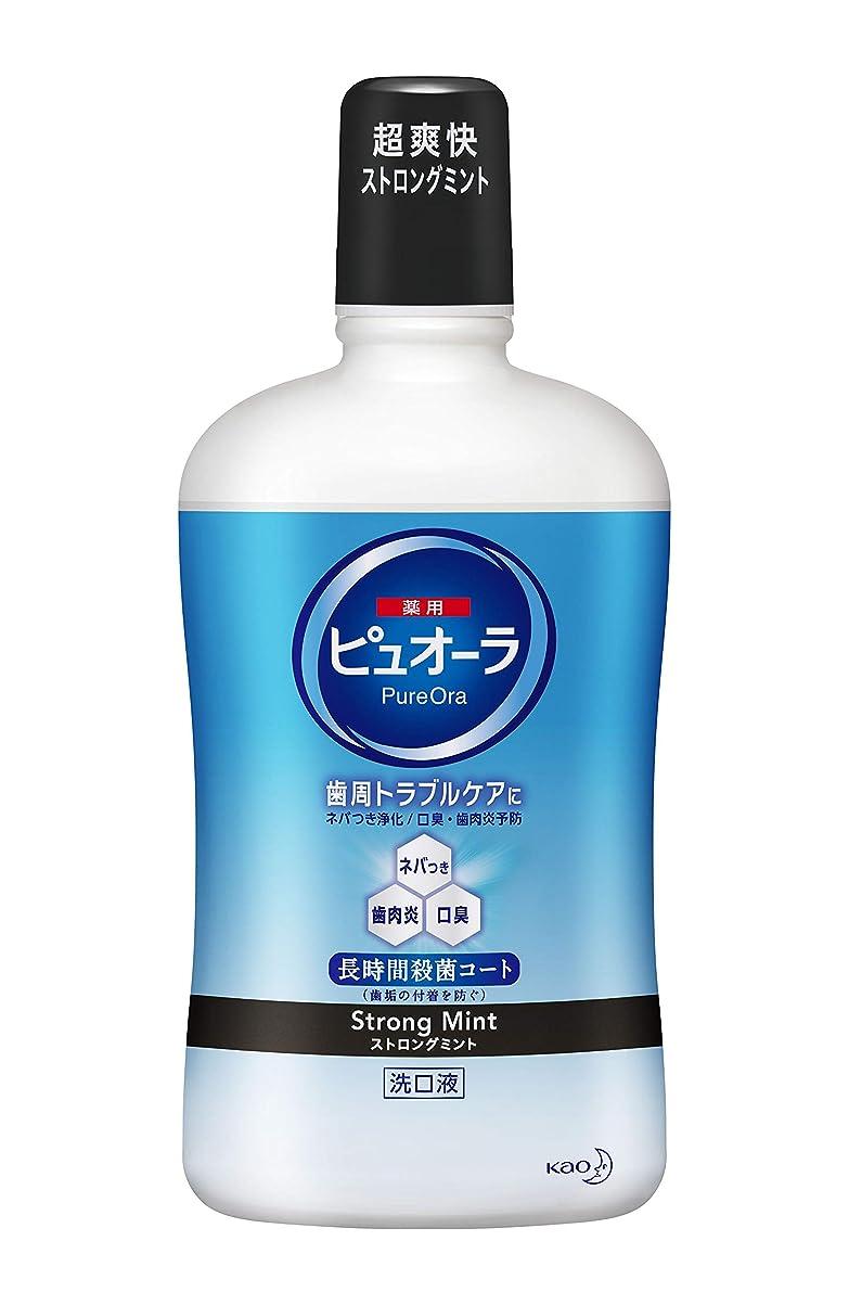 論争的宣言いとこ【大容量】ピュオーラ 洗口液 ストロングミント 850ml