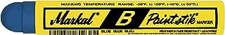 Markal 80225 B Paintstik Solid Paint Ambient Surface Marker, Blue (Pack of 12)