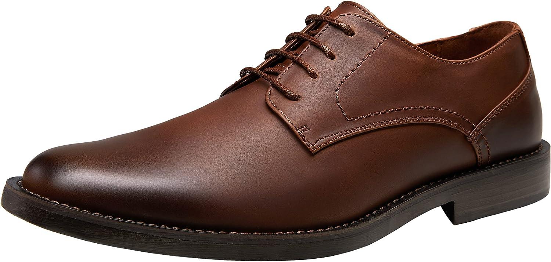 Jousen Men's Dress Shoes Retro Casual Dress Shoes for Men