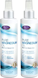Life-Flo Pure Magnesium Oil | 100% Pure Magnesium Chloride Spray from Ancient Zechstein Seabed | For Relaxing & Rejuvenati...