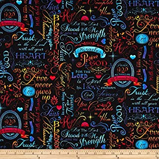 scripture fabric by the yard