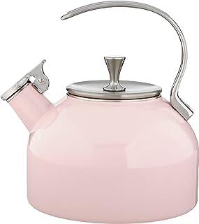 KATE SPADE Tea Kettle, 3.80 LB, Blush