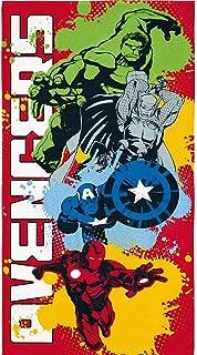 Toalha de Banho Infantil Aveludada Avengers