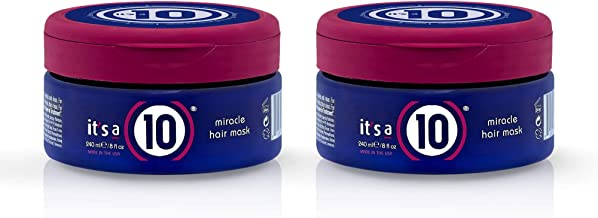 It's a 10 Haircare Miracle Hair Mask, 8 fl oz (Pack of 2)