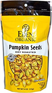 Eden Foods, Organic, Pumpkin Seeds, Dry Roasted, 4 oz (113 g)