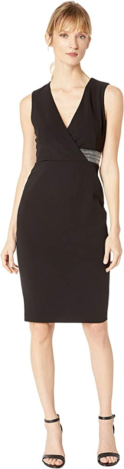 Sheath Dress with Side Embellishment Detail CD8C16XX
