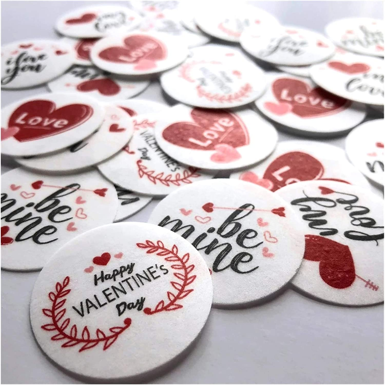 KAOLA Valentine's Day Heart Pattern To Wafer Cake 2021 depot model Transfer Paper