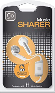 Design Go Share Phones Ear Phones, White, One Size