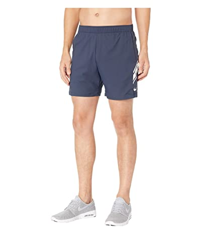 Nike NikeCourt Dry Shorts 7 (Obsidian/White/White) Men