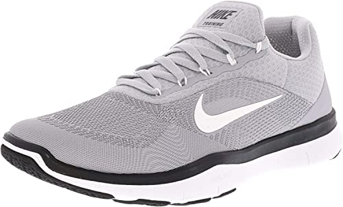 Nike Men's Free Trainer V7 TB Wolf gris blanc-noir Ankle-High Training chaussures - 9M