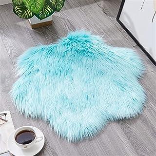 PPLAS Couleur Pure Tapis de Prune Simple Ménage Fashion Fashion Table Basse Tapis Cold Mat Salon Chambre à Coucher Chambre...