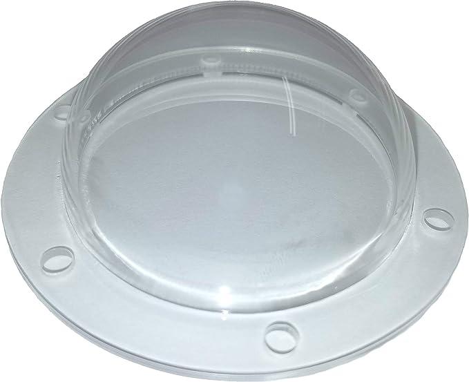 "BIG 22/"" Hemisphere Acrylic Plastic Dome Bubble Window Light Bowl Cover R2D2 BB-8"