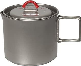 Evernew Titanium Mug Pot 500 RED ECA266R