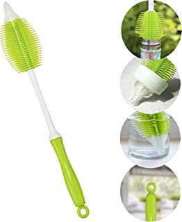 Innobaby 2-in-1 Silicone Bottle Brush, Green