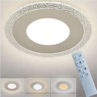 KEQJSK 12 Inch Flush Mount LED Ceiling Light Fixture,Chrome Bubble Ceiling Lights Hallway/Bathroom /Kitchen/Bedroom Lighti...