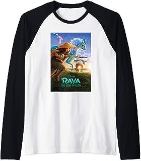 Disney Raya and the Last Dragon Movie Poster Manche Raglan