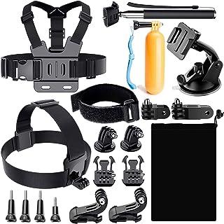 سايز OO - حزام الكاميرا - طقم إكسسوارات كاميرا TTKK الساخن لـ 6 هيرو 5 جلسات SJ4000/SJ5000/SJ6 Legend/SJ7 إكسسوارات كاميرا...
