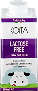Koita Lactose Free Non Hormone Liquid Milk - 200 ml