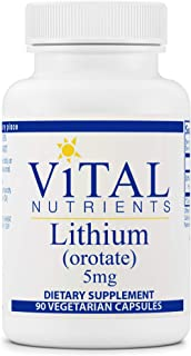 Sponsored Ad - Vital Nutrients - 100% Elemental Lithium (Orotate) - Supports Mental and Behavioral Health - 90 Vegetarian ...